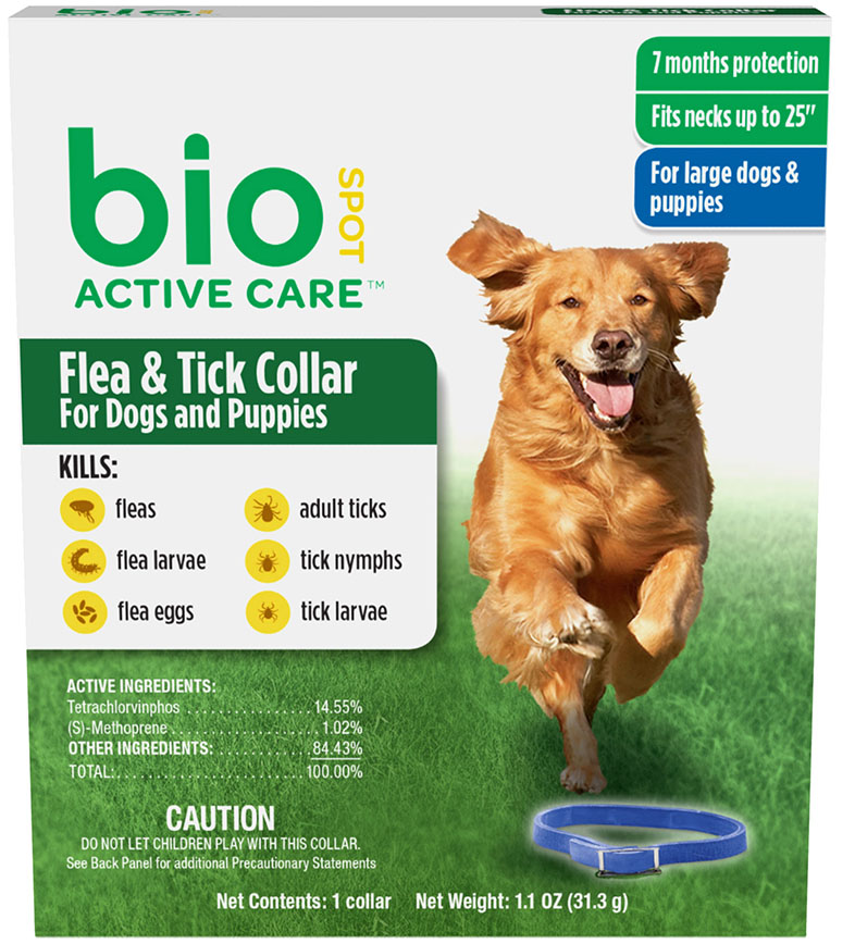 Flea and Tick Collar for Dogs July 2015